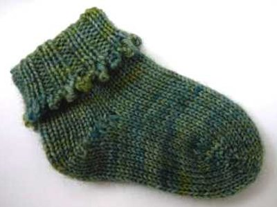 Knitting Pattern Central Baby Socks Ipaafo For