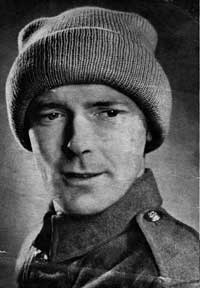 Fatigue Cap from Essentials for the Forces (Jaeger Hand-Knit Series No. 44), 1940s.