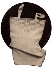 Ladies Vest from The 1933 Lux Book.