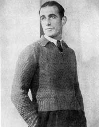 Men's Pullover from The 1933 Lux Book.