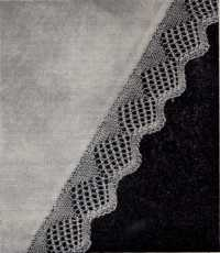 Knitted Edging From Stitch Needlecraft and Home Feature Magazine, Vol. 5, No. 4, 1953.