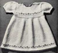 'Ann' Dress from Tiny Tots Knitwear, A New Idea Production, No.29, c.1945.
