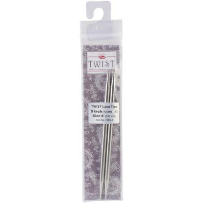 ChiaoGoo Twist Red Lace Interchangeable Tips - 5.00mm