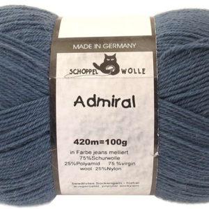 Admiral - 4993 Jeans Melliert (Heathered Denim)