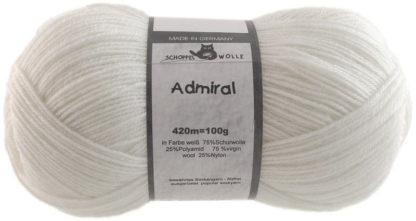 Admiral - 990 Weiß (White)