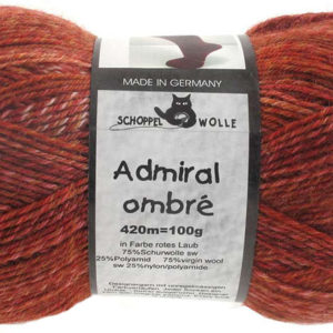Admiral Ombre - 1881 Rotes Laub (Red Leaves)
