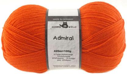 Admiral - 0891 Herbstorange (Autumn Orange)