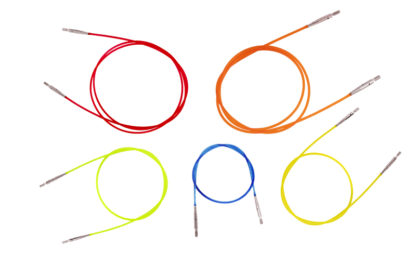 KnitPro Interchangeable Needle Cables - Multi-Coloured