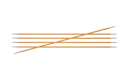 KnitPro Zing Metal Double Point Needles - 2.25mm