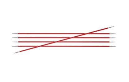 KnitPro Zing Metal Double Point Needles - 2.50mm