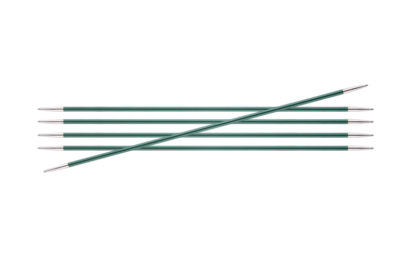 KnitPro Zing Metal Double Point Needles - 3.00mm
