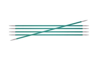 KnitPro Zing Metal Double Point Needles - 3.25mm