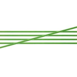 KnitPro Zing Metal Double Point Needles - 3.50mm