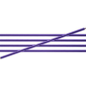 KnitPro Zing Metal Double Point Needles - 3.75mm