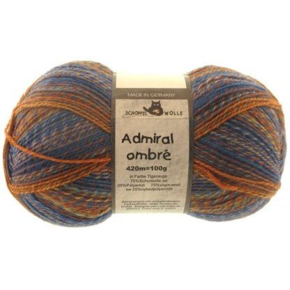 Admiral Ombre - 1658 Tigerauge (Tiger's Eye)