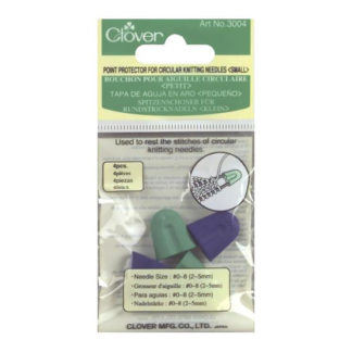 Clover circular needle point protectors