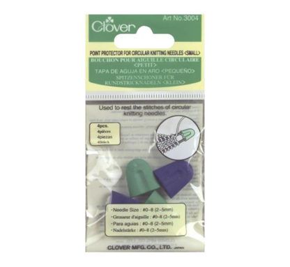 Clover circular needle point protectors