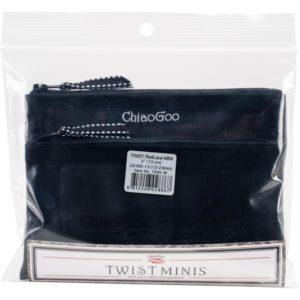 ChiaoGoo Twist Red Lace 5″ MINI Interchangeable Needle Set