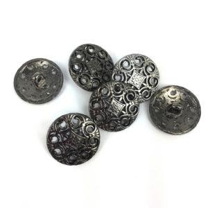 Pierced Metal Buttons 20mm