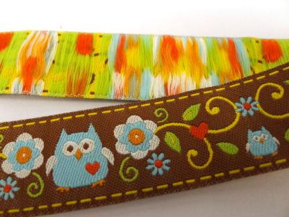 Ribbon - Brown Ground Owls