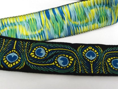 Ribbon - Peacock Feathers