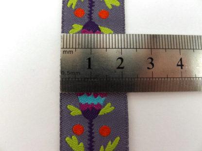 Ribbon - Purple Formal Floral