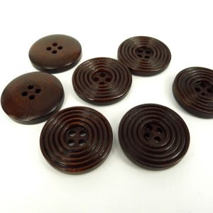 Wood Buttons - 25mm