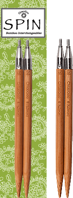"ChiaoGoo Spin Bamboo Interchangeable Tips 5"""