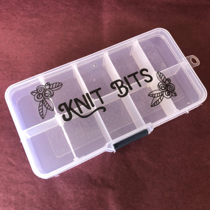 Knit Bits Container