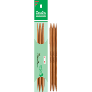 ChiaoGoo Bamboo Double Point Needles
