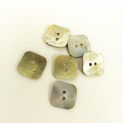 Button - Square Mother of Pearl