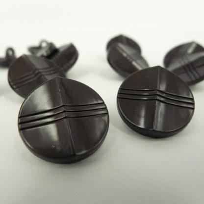 Dark Metal Button