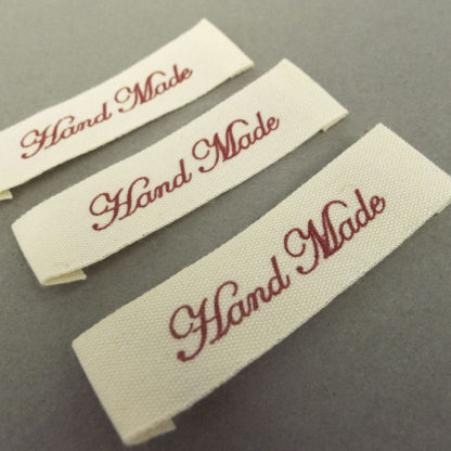 Hand Made Label